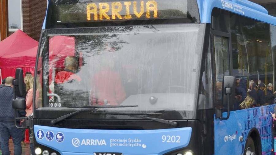 Aanpassingen busdienstregeling Arriva in Friesland