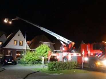 Buren voorkomen erger bij brand in overkapping aan Het Meer