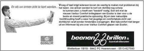 Adv 01 Beenen Brillen