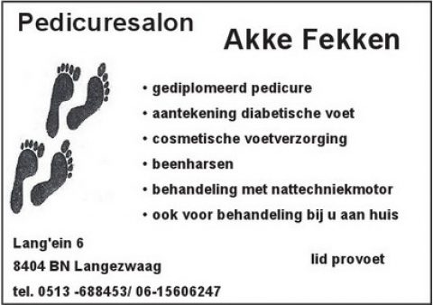 Adv C-2 Pedicuresalon Akke Fekken