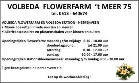 Adv D-1 Volbeda Flowerfarm