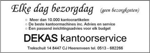 Adv Z-2 Dekas kantoorservice